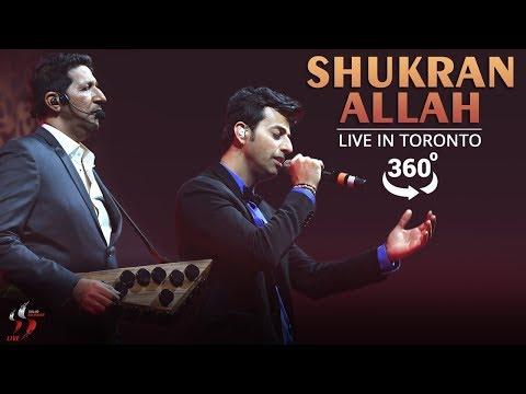 Shukran Allah Kurbaan 360 Degree Video Salim Sulaiman Live Jubilee Concert Toronto