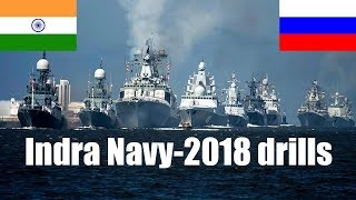 Indian and Russian warships embark on sea phase of Indra Navy-2018 drills