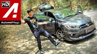 Review Toyota Yaris TRD Sportivo 2014 Indonesia by AutonetMagz