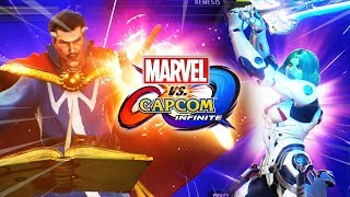 Gamora & Dr. Strange Go Nuts: FULL MATCHES - Marvel Vs. Capcom Infinite