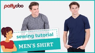 Download How to sew a men's shirt - step by step sewing tutorial 3Gp Mp4