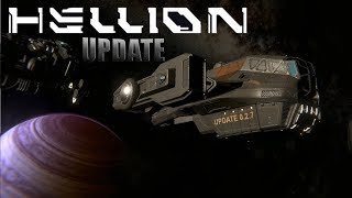 HELLION UPDATE 0.2.7- CRAFTING | FABRICATOR MODULE | INTERFACE IMPROVEMENTS and much more
