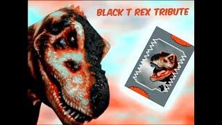 Dinosaur King Black T Rex Tribute/Animal I have Become