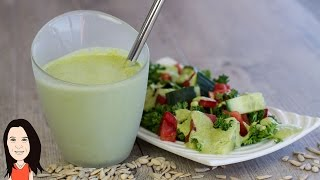 Vegan Sunflower Seed Ranch Dressing - NO OIL RECIPE!