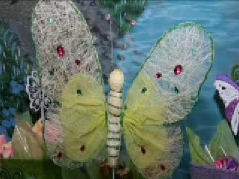 Festa das fadas no jardim das borboletas