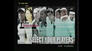 """""""Smash Court Tennis Pro Tournament"""" (Playstation 2) gameplay, no commentary"""