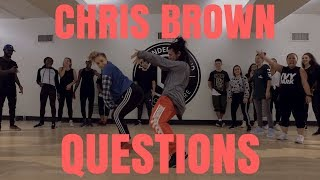 Chris Brown - Questions | @ChrisBrown Dance Choreography by @BizzyBoom