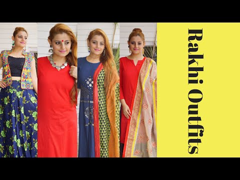 RAKSHA BANDHAN OUTFIT IDEAS | Look Book on Indian & Indo Western Outfits