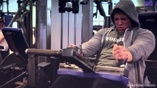 Swoldier Nation - Trainer Edition - Leg day Part 2 - Quads, Hamstrings, Cooldown