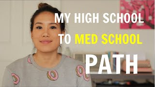 My Path from High School to Medical School | High School Transcript Reveal!