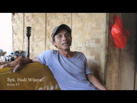 Kampung Cacing, sungai cisadane, Tangerang (UAS Feature Media Siar)