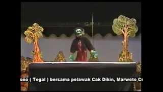 New Wayang Golek Ki Enthus Susmono   Dagelan Cak Diqin   Marwoto CS 2015