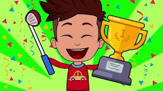 Tom & Jack in golf competition | Funny Cartoons for Children 56 | Animation for Kids | SM Cartoon TV