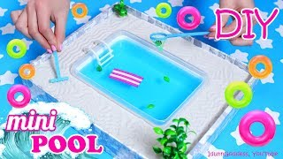 How To Make A Miniature Swimming Pool Zen Garden – DIY Stress-Relieving Desk Decoration
