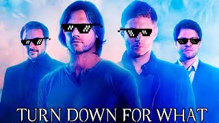 TOP 5 TURN DOWN FOR WHAT SUPERNATURAL