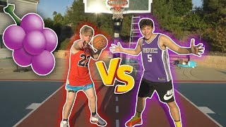 1v1 BASKETBALL vs TRISTAN JASS! CRAZIEST JELLY LAYUPS OF ALL TIME