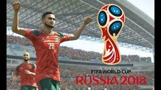 Maroc vs Iran Coupe du Monde 2018 Russie #01 Match de Poule PES 18