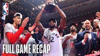 BUCKS vs RAPTORS | Toronto Makes History! | Game 6