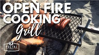 The Gary Grill - The best open fire cooking grill | Campfire Grill