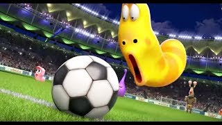 LARVA ❤️ 11 Hours Non Stop Full Collection ►La FOOTBALL ❤️ The newest compilation 2017