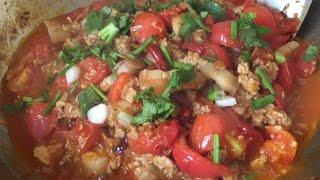 น้ำพริกอ่อง ทำง่ายเว่อร์ อร่อยเด็ด Nam Prik Aong l อร่อยพุง #คอนเฟิร์มความอร่อยจากคอมเม้น