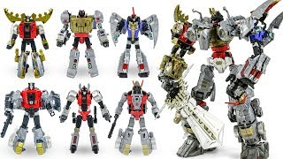 Transformers Power Of The Prime Volcanicus Dinobot Combiner Dinosaur Robot Toys