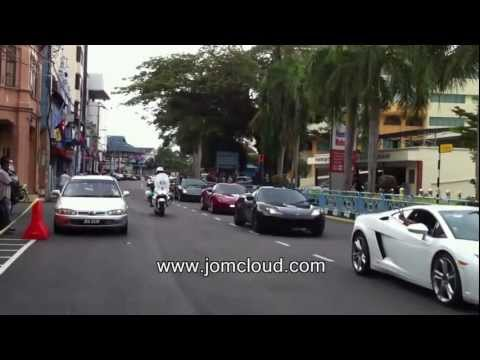 Ferrari vs Lamborghini Celebrate Johor Sultan Sultan Ibrahim Sultan Iskandar s birthday