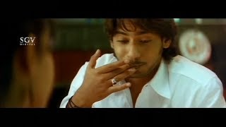 Prajwal taking buildup infront of Aindritha in chinese restaurant | Nannavanu | Kannada Comedy Scene