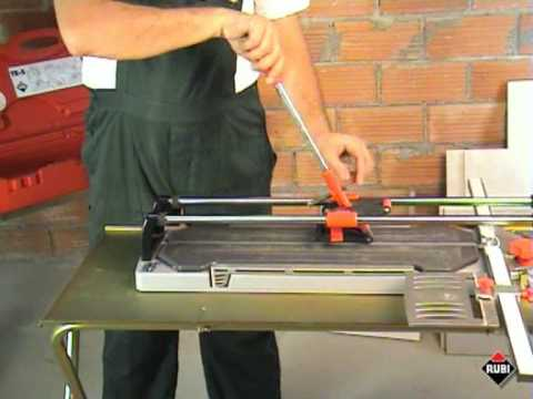 RUBI TR S Cortadora de cerámica y porcelánico Profesional Professional Tile and porcelain Cutter