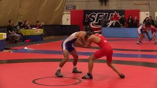 2018 Commonwealth Games Trials: 57 kg Sam Jagas vs. Steven Takahashi