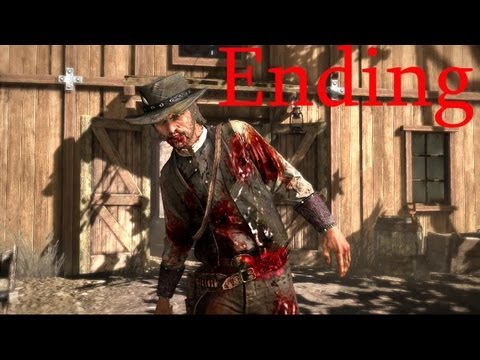 Red Dead Redemption ENDING John Marston s death HD Red Dead Ending