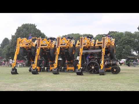 JCB Tractor Dancing J C Balls