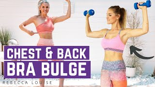 How To Lose Back Fat & Get Rid Of Bra Bulge   Rebecca Louise