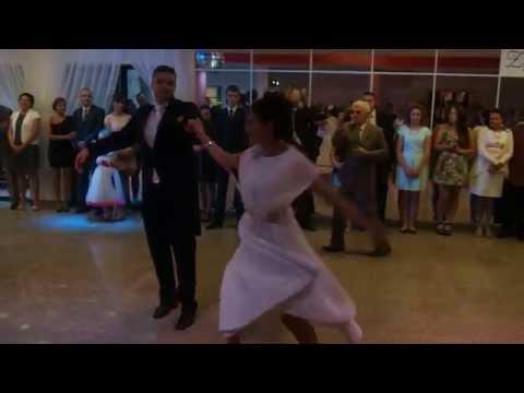 Zajazd Pod Świerkami wesele 12.06.2014 pierwszy taniec