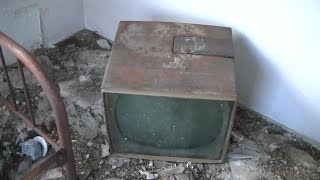 Testing CRTs and Old Television Graveyard