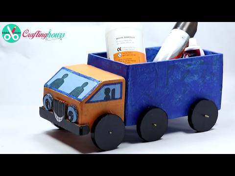 Xxx Mp4 How To Make A Cardboard Kids Toy Truck With Waste Material Best Out Of Waste 3gp Sex