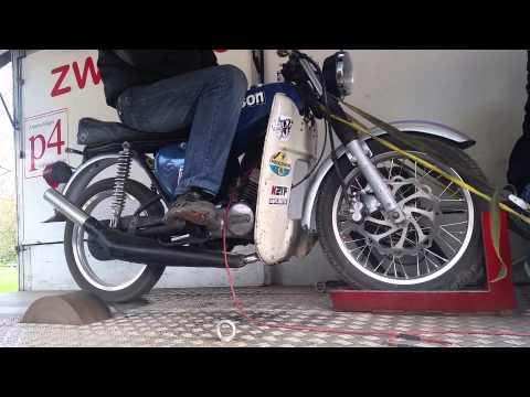 K2TF Moped Prüfstand || Simson Kurstadt Treffen 2015