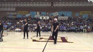 Boys vs Girls Assembly 2016 Faculty Dance Off