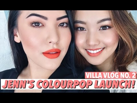 Jenn Im's Colourpop Launch Day! | VILLA VLOG NO. 2 | soothingsista