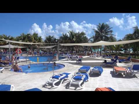 Viva Wyndham Maya January 17 2017 Pool Area Panoram Video