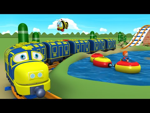 Toy Factory Cartoon - Train for Kids - Thomas Cartoon - поезда для детей видео - Train Cartoons