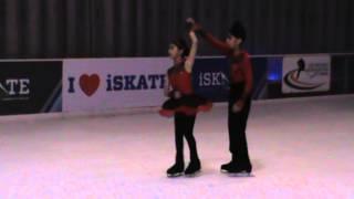 Manit Aanya Pair Skating - Blades for Glory 2016