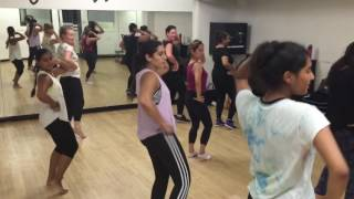 Cham Cham | Baaghi | Bollywood Fusion dance class at Pineapple Dance Studios