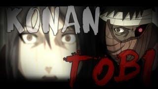 [Naruto Shippuden AMV/ASMV] | Konan vs Tobi | English version