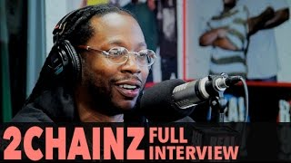 """2 Chainz Talks About New Album """"Collegrove"""" With Lil Wayne (Full Interview) 