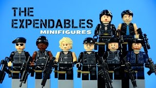 LEGO S.W.A.T. The Expendables KnockOff Minifigures Call of Duty Set 3