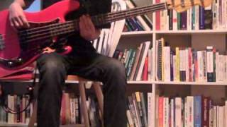 Erase Me by Kid Cudi bass cover