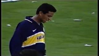 Debut de Nolberto Solano en Boca Juniors - Torneo Apertura 24/08/1997