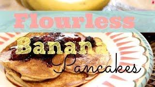 Healthy Breakfast Recipe: How To Make Banana Pancakes | Flourless, Gluten-Free, Low-Fat