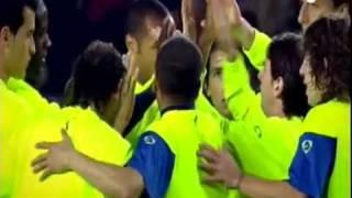 Video Motivación Guardiola Previo Valladolid Barça Campeón Liga 17-05-2010 mejores momentos